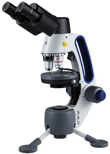 Swift Optical M3-B Binocular Macro/Micro/Field Microscope, Widefield 10X/18Mm Eyepiece, 4X, 10X, 40Xr Micro And 1X Macro Achromatic Objective, Led Illuminator Light Source, 110V/220V, 20X-400X Magnification