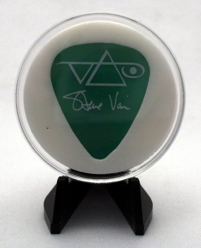 Steve Vai Green Ibanez Guitar Pick With MADE IN USA Display Case & Easel (Guitars Made In America compare prices)