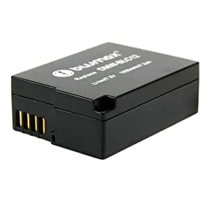 Blumax Batterie Li-Ion de remplacement pour Panasonic DMW-BLC12 / DMWBLC12 / Lumix DMC-GH2 / -GH2K / -GH2S (Import Allemagne)