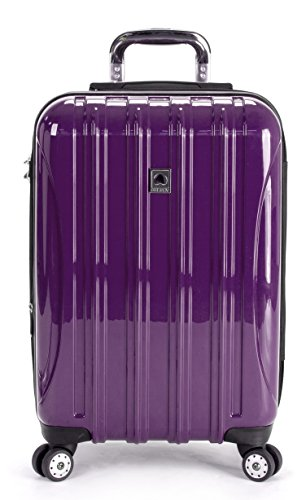 Delsey-Luggage-Helium-Aero-Carry-On-Spinner-Trolley-One-Size-Purple