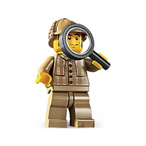 Lego Series 5 Detective Mini Figure - 1