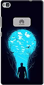 DailyObjects Bright Side Case For Huawei Ascend P8