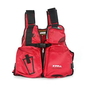 X'Sell Adult Buoyancy Aid Sailing/Fishing Life Jacket RED