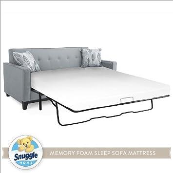 Snuggle Home Memory Foam Sleep Sofa Mattress FULL