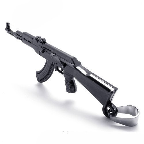 Cyqun(Tm) Cool Ak47 Gun Necklace