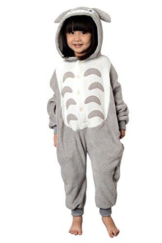[Ninimour- Unisex Children Cosplay Costumes (115, Totoro)] (Totoro Costume Girl)
