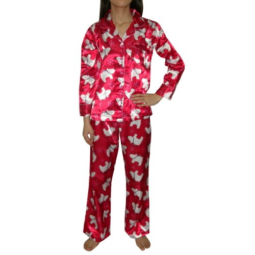 2 PCS SET: Girls La Senza Fleece Sleepwear Pajama Top & Pants Set