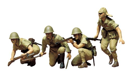 Tamiya Models Japanese Army Infantry Model Kit - 1