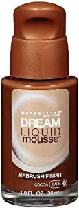 Maybelline York Dream Liquid Mousse Foundation, Cocoa Dark 3, 1 Fluid Ounce