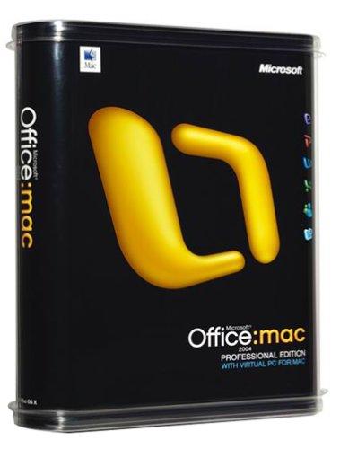 Microsoft Office 2004 Professional (Mac) [Old Version]