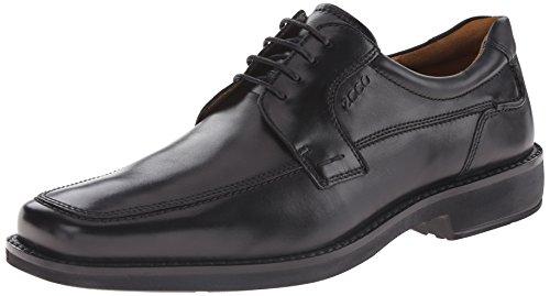 Ecco Men's Seattle Apron Toe Oxford,Black,44 EU (US Men's 10-10.5 M) (Ecco Shoes compare prices)