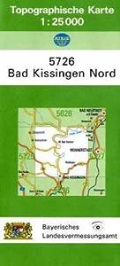 tk25 5726 bad kissingen nord topographische karte 1 25000 landesamt f r. Black Bedroom Furniture Sets. Home Design Ideas
