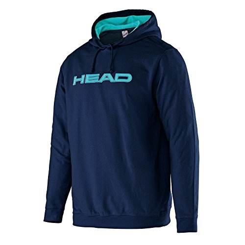 Head Transition Byron - Felpa con cappuccio, da uomo, Uomo, Transition Byron, Blu Navy/Aqua, L