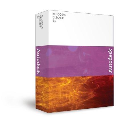 Autodesk Cleaner, Up/cleaner 4/5>6.5/EN CD Mac