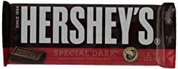 HERSHEY\'S SPECIAL DARK Mildly Sweet Chocolate Bar (1.45-Ounce Bars, Pack of 36)