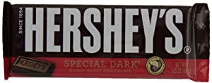 Hershey's Special Dark Chocolate Bar, 1.45-Ounce Bars (Pack of 36)