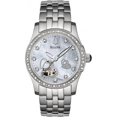 Bulova Ladies BVA Diamond Watch 96R122