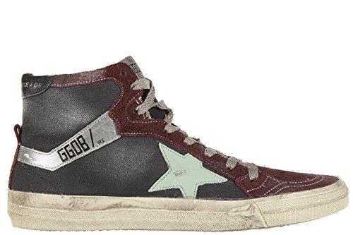 Golden-Goose-zapatos-zapatillas-de-deporte-largas-mujer-nuevo-212-negro