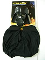 Star Wars Costume Kit - Darth Vader Child Mash & Cape Costume