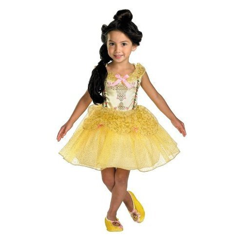 Costumes For All Occasions DG50498S Small The Beast Belle Ballerina Toddler
