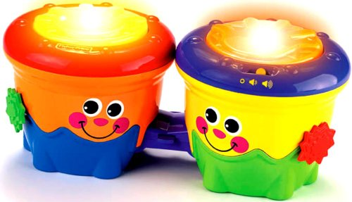 Fisher-Price Crawl-Along Drum Roll