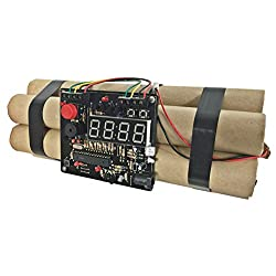 Defuse a Bomb Dynamite Digital Alarm Clocks Movie Props Novelty