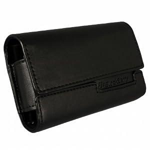 RIM Horizontal BlackBerry Pouch - Leather - Black