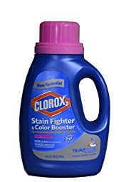 Clorox 30184 Liquid Concentrated Bleach, Fresh Meadow Fragrance, 33 fl oz Bottle (Case of 6)