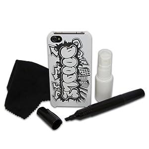 Thumbs Up Doodle Schutzschale für iPhone 4 / 4 S und 5