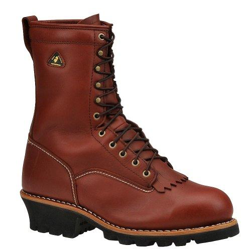 "Men's 9"" Golden Retriever Waterproof Vibram Logger Work Boot"