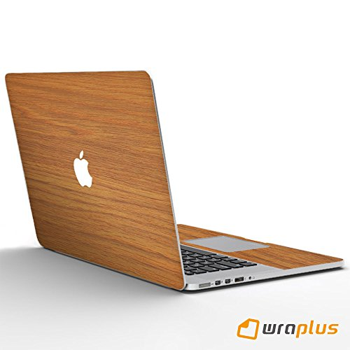 wraplus for Macbook Pro 13 インチ 【オーク】 スキンシール