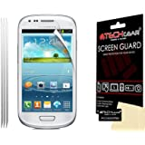 Techgear Clear LCD Screen Protector for Samsung Galaxy S3 Mini i8190 (Pack of 3)