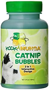 Kookamunga Krazee Kitty Catnip Bubbles, 5 oz
