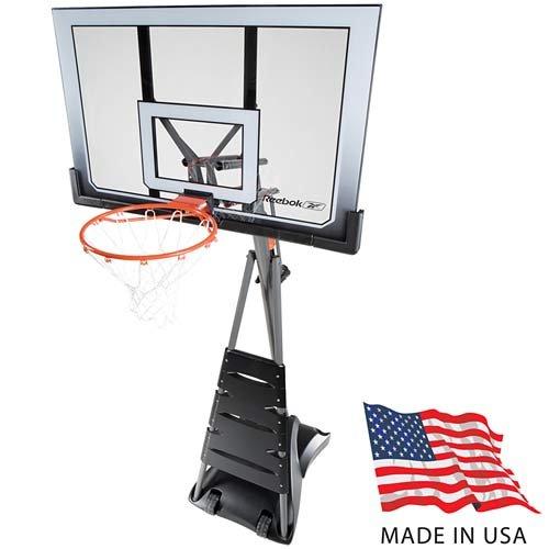 Reebok Revolution 51563 Portable 52in Acrylic Basketball ...