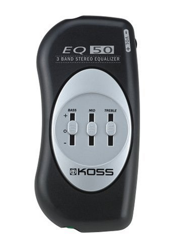 Koss EQ50 3-Band Stereo Equalizer