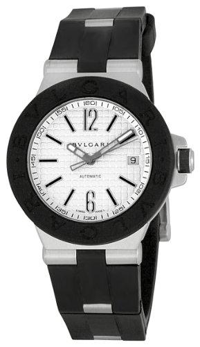 Bvlgari Men's BVL101630 Diagono Silver Dial Watch