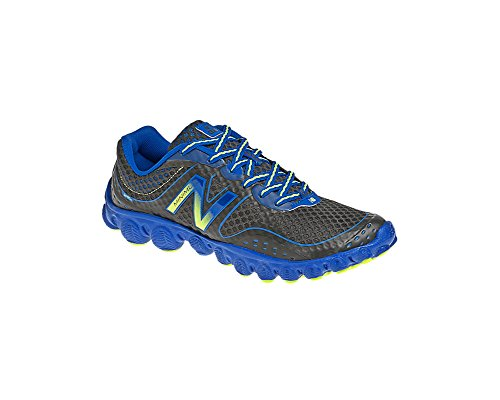 New Balance K3090 Ionix Minimus Grade Running Shoe (Big Kid),Dark Grey/Blue,4 M Us Big Kid