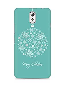 Amez designer printed 3d premium high quality back case cover for Lenovo Vibe P1M (Merry Christmas)