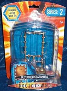 """Doctor Who 5"""" Action Figure Series 2 Destroyed Cassandra"""