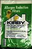 6 Kirby Style F Vacuum Bags for 2009 Sentria Models