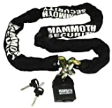 LOCMAMSS01 - Bike It Mammoth Hexagon Lock and Chain 1.8m
