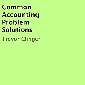 Common Accounting Problem Solutions | Livre audio