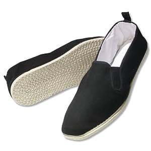 Cotton Sole Kung Fu Shoes Black 3