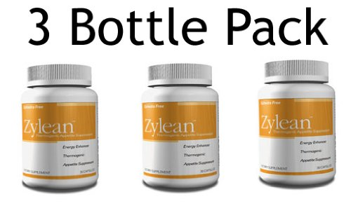 Zylean Weight Loss Appetite Suppressant And Thermogenic (3 Bottle Pack)