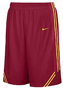 Southern Cal Trojans College Crimson 12 Inseam Embroidered Player Replica Basketball... by Nike