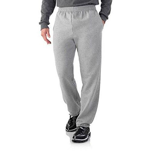 fruit-of-the-loom-mens-elastic-bottom-sweatpant-steel-grey-heather-small-waist-28-30