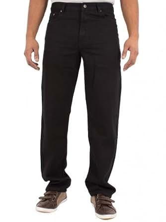 Blue Circle - Pantalon de travail en jean - Noir - Homme- Taille : 52S