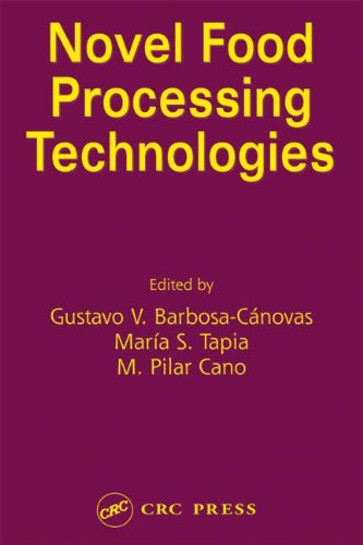 Novel Food Processing Technologies (Food Science And Technology) front-616345