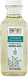 Aura Cacia Aromatherapy Bubble Bath, Tranquil Chamomile 13 oz (Pack of 2)