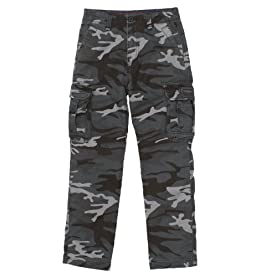 Boys Survivor Camo Cargo Pants